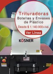 Máquina Trituradora de Plástico - KOSNER