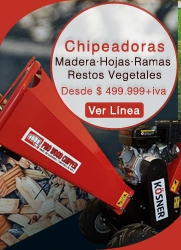 Chipeadoras de Maderas Industriales - KOSNER